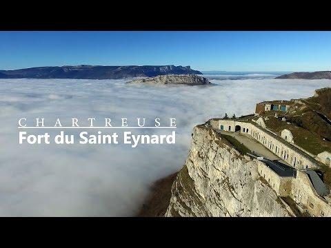 Fort Du Saint Eynard Vu Du Ciel (Drone)