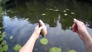 Ловля на перетяжку.Полная версия рыбалки.