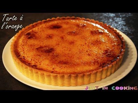 recette-de-tarte-à-l'orange