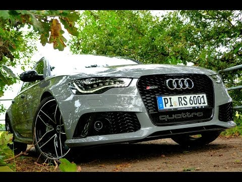 audi rs6 c7 2014 drive sound 560ps 700nm enginereport youtube. Black Bedroom Furniture Sets. Home Design Ideas