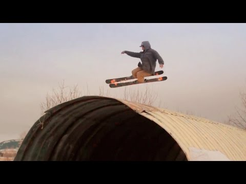Pro Aaron Hurlburt ski video Three Years. A whole bunch of footage