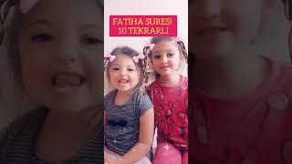 Çocuklar için Fatiha suresi ezberleme.(Elhamdülillahi Rabbil Alemin) . Eğitici çocuk videoları