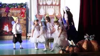 Новогодний спектакль Золушка ДК Кварц Нагорный Увельский район 2016 HD