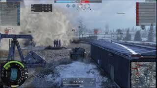 Видеоурок 1 Let's Play AW R_A_U Столкновение PvP Победа урон 20k kills 6-9 Armored Warfare Армата