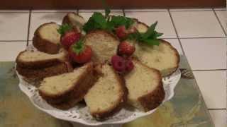 Mom's Homemade Pound Cake