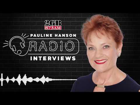 "Pauline Hanson is shocked the Australian Senate voted ""It's Not Ok To Be White""."