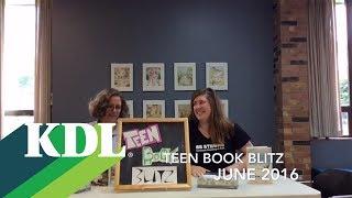 Teen Book Blitz June 2016