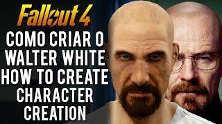 سقوط 4 - Como Criar o والتر وايت - حرف الخالق (كيفية إنشاء)