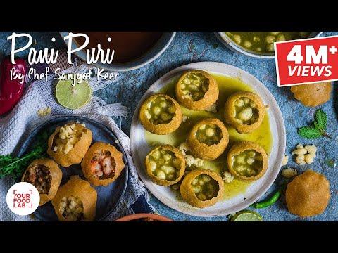 Pani Puri Recipe | पानी पूरी | Chef Sanjyot Keer