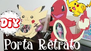 DIY Geek ~ Porta Retrato de Pokemon