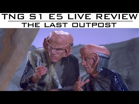 """ST: TNG LIVE Reviews S01E05 """"The Last Outpost"""" - Trekyards"""