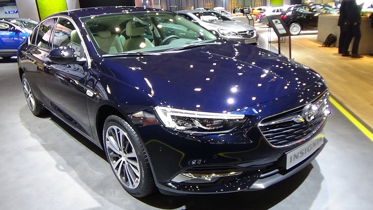 2018 opel insignia grand sport innovation 1 5 turbo exterior interior auto show brussels. Black Bedroom Furniture Sets. Home Design Ideas