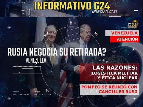 G24- RUSIA EN VENEZUELA- GUERRA FRÍA 2.0 / I PARTE