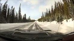 Driving Calgary to Jasper