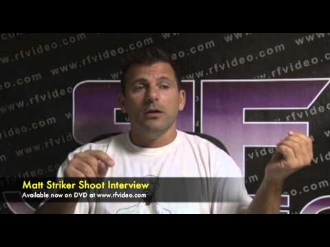 Matt Striker Shoot Interview Preview
