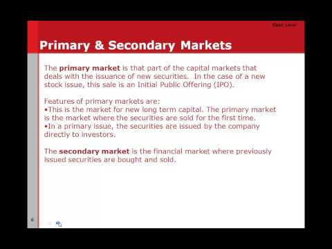 Security markets – Equity, Bonds, Trading, Stock Exchange In Telugu