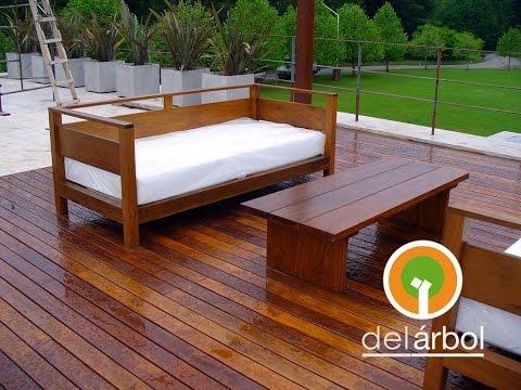 Muebles de madera para exterior 2017 del for Fabrica de muebles para exterior