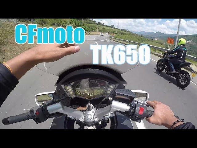 CFmotos TK 650 como a rata