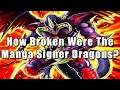 Gambar cover How Broken Were The Manga Signer Dragons? | Yu-Gi-Oh! 5D's