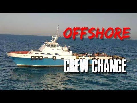 Offshore Crew Change on Board AHTS. Allianz Hercules | SeamanVlog