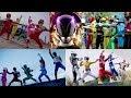 All Power Rangers Team Ups Morphs   Hasbro Compilation   Superheroes