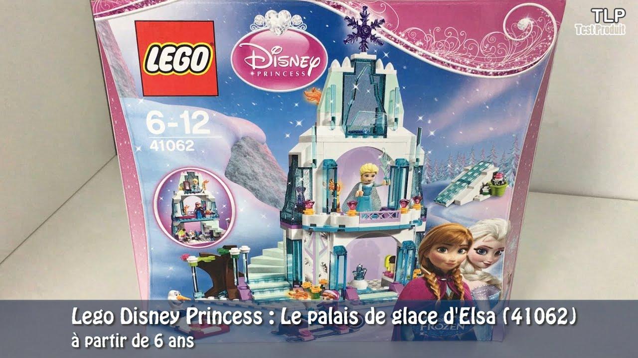 construction lego le palais de glace delsa 41062