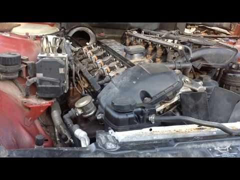 EASY How to remove DOUBLE VANOS unit BMW M54 M52TU M56 in less than 1 HOUR x5 e46 e39