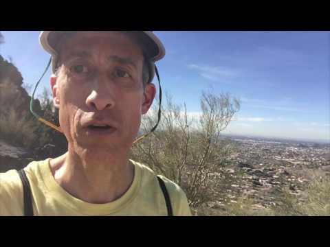 Piestewa Peak Summit Trail Barefoot Hike