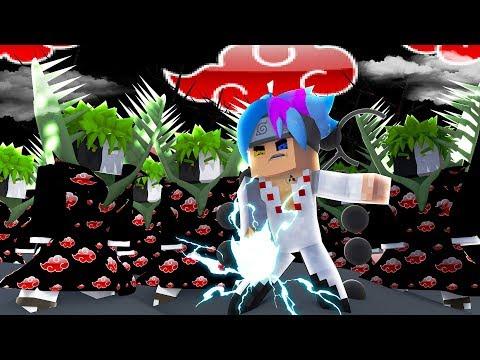 Minecraft: SARUTO - REVIVERAM A AKATSUKI E ATACARAM O SARUTO #120