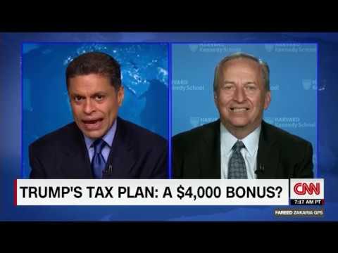 Larry Summers blasts Trump tax plan as dishonest