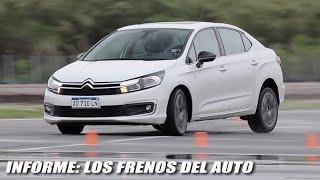 Los frenos del auto - Informe - Matías Antico - TN Autos