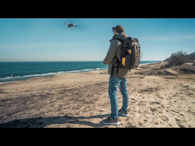 Torvol Drone Explorer - THE Backpack for Traveling!