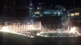 The Dubai Fountain is the world's largest choreographed fountain, Burj Khalifa Lake 2016