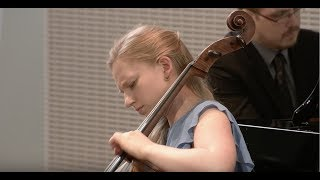 Kristina Winiarski plays Rachmaninoff cello sonata, 3rd movement