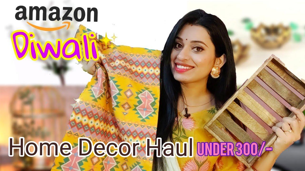Huge Amazon Diwali Home Decor Haul Under 300 House Makeover 2020 Youtube
