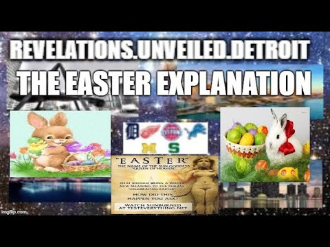 """EASTER"" RE-EXAMINED.  TRADITIONS Of MEN."