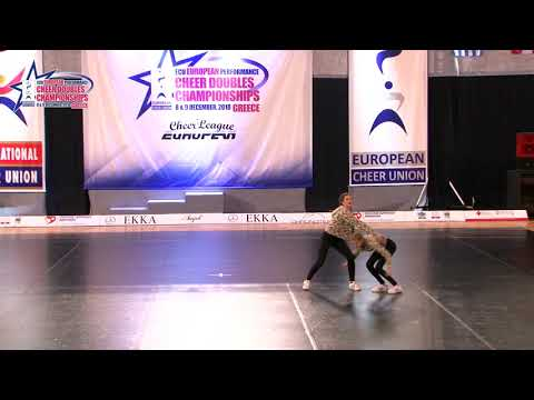 135 JUNIOR DOUBLE CHEER HIP HOP Pavlin   Zajc ŠKD FRKLJE SLOVENIA