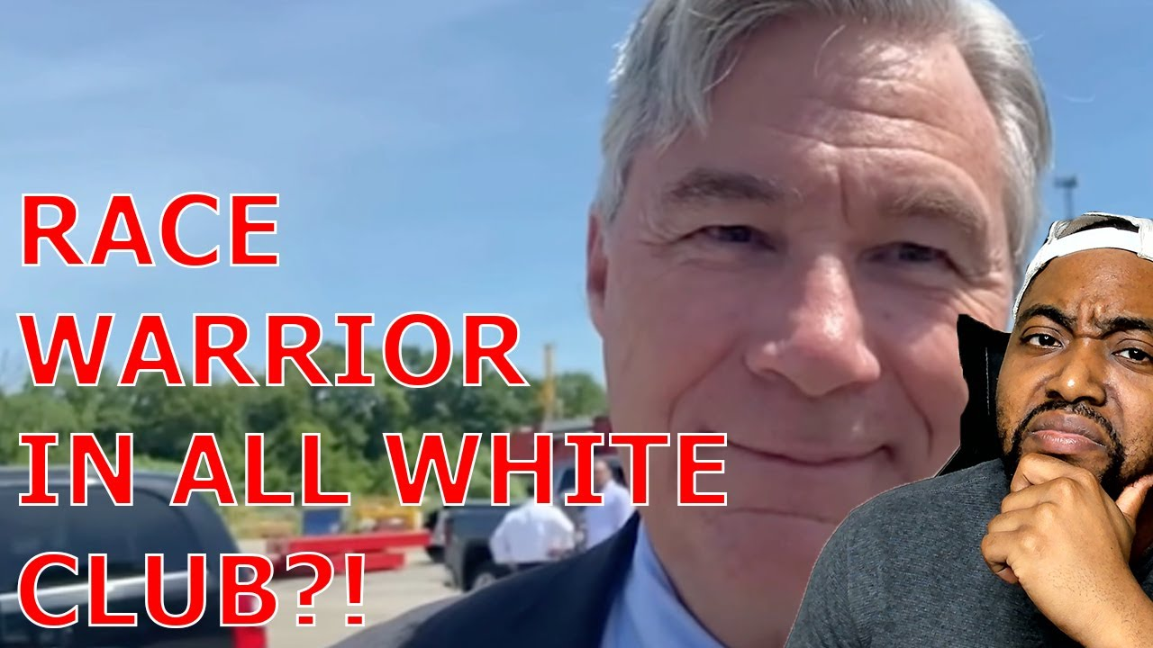 Progressive Dem Sheldon Whitehouse Fights Racism But Won't Give Up Membership At WHITE ONLY Club
