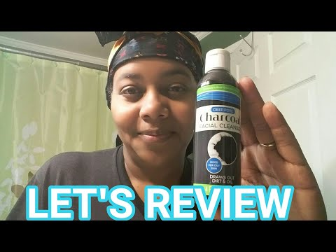 DOLLAR TREE CHARCOAL FACE CLEANSER REVIEW!