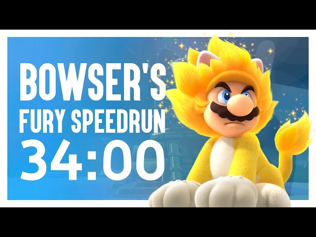 Bowser's Fury Any% Speedrun in 34:00
