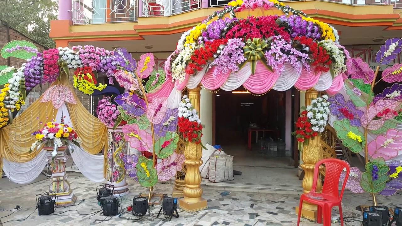 Wedding flower decoration munna 9339971327 kolkata youtube wedding flower decoration munna 9339971327 kolkata junglespirit Choice Image