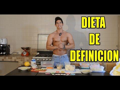 Dieta para definicion muscular hombres