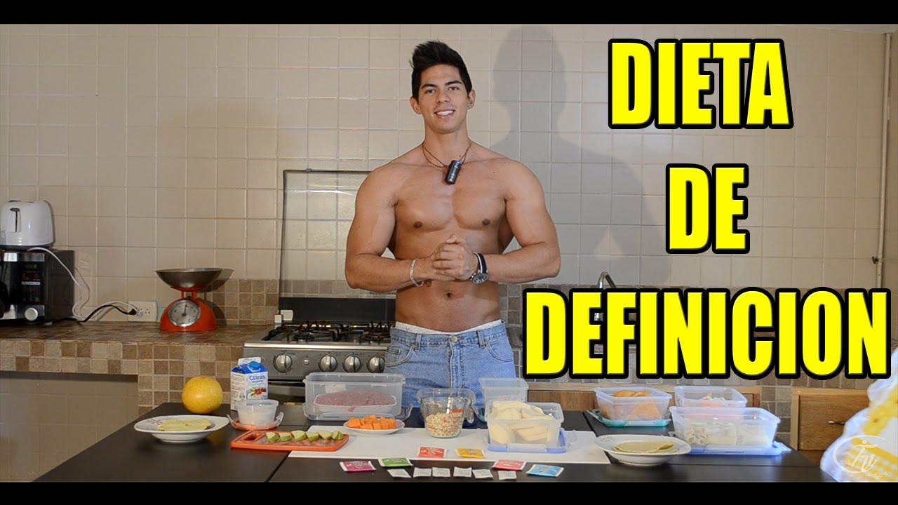 dieta para afinarse y fijar abdomen
