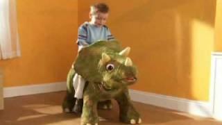 Ri Happy - Playskool Kota Dinossauro Triceratops - Hasbro! Um incrí...
