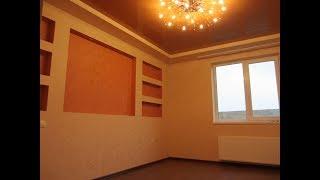 Новый  ремонт частного дома . 2-ая часть. Отделка спальной комнаты.