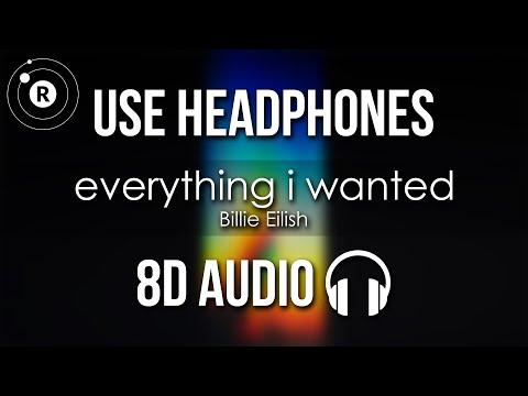 Billie Eilish - Everything I Wanted (8D AUDIO)