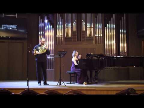 Хиндемит, Пауль - Соната для валторны и фортепиано