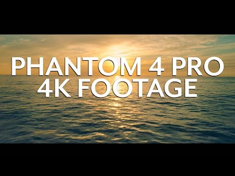 Phantom 4 Pro Cinematic 4K Footage - Carlsbad California