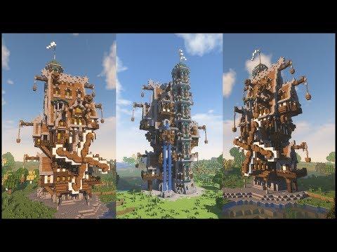 Minecraft ► EPIC STEAMPUNK HOUSE!!! [World Download]