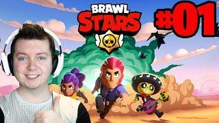BRAWL STARS #01 - ZACZYNAMY ZADYMKI! | Vertez